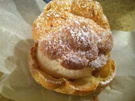 The famous Big E Cream Puff!