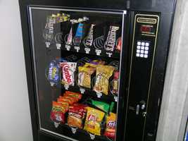 It will be easier to stay away from the office vending machine if you plan in advance and have some healthy snacks on hand.