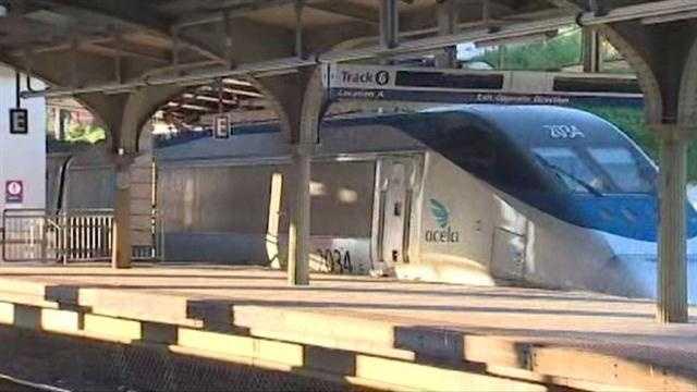 Amtrak Acela train