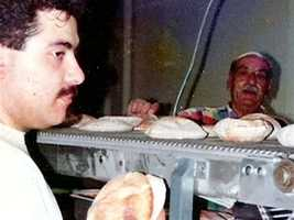 After they had difficulty finding pita bread, Elie and his grandfather started making their own.