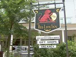Welcome to the Red Lion Inn, in Stockbridge