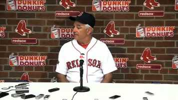 "August 25: Relief pitcher Alfredo Aceves was suspended three games by the Red Sox for ""conduct detrimental to the team"" following a confrontation with manager Bobby Valentine."