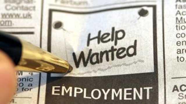 Jobs Employment Unemployment Generic Blurb