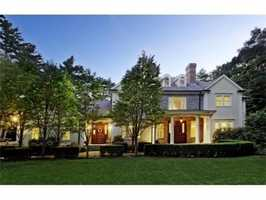 This home is on the market in Lincoln for $2.29 million.