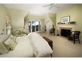 The home sits on a 4.72 acre lot.