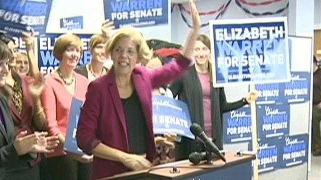 Senate candidates woo woman voters