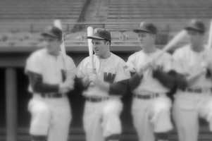 """Eddie Yost was nicknamed """"The Walking Man"""" because of his penchant for drawing bases on balls during an 18-year major league career.After his playing days, Yost was a third base coach for the Red Sox, New York Mets and Washington Senators.(October 13, 1926– October 16, 2012)"""