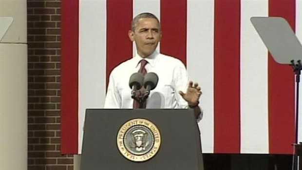 Obama in NH