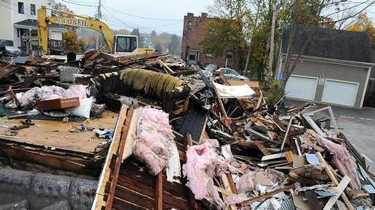 Marlboro house explosion