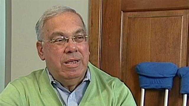 Boston Mayor Thomas Menino hospitalized