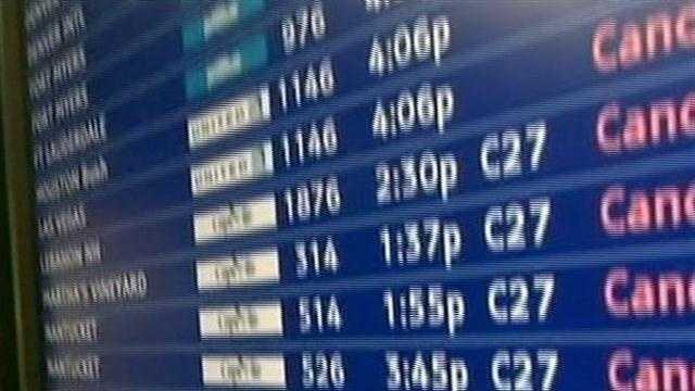 Some flights resume at Logan