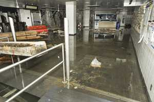 South Ferry Subway Station  - Damage to the MTA New York City Transit system in the aftermath of Hurricane Sandy