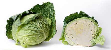 6.) Cabbage