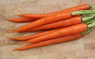 29.) Carrots