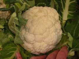 9.) Cauliflower