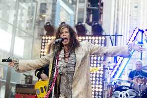 "Steven Tyler of Aerosmith performs on NBC's ""Today"" show on Friday, Nov. 2, 2012 in New York."