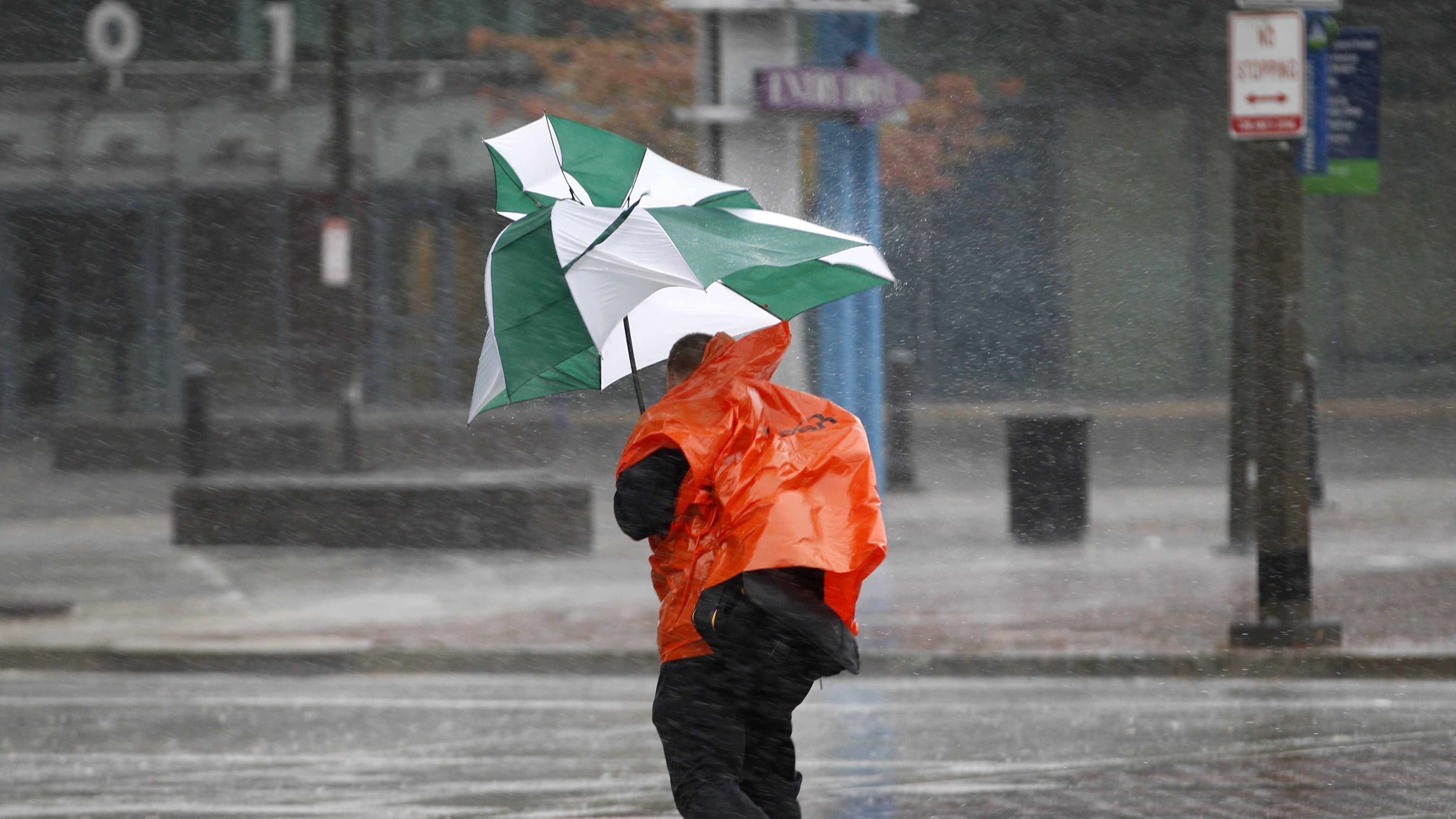 Rain, Umbrella