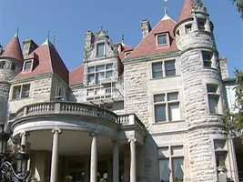 Built in 1888, the castle is for sale.  Asking price: nine million dollars.