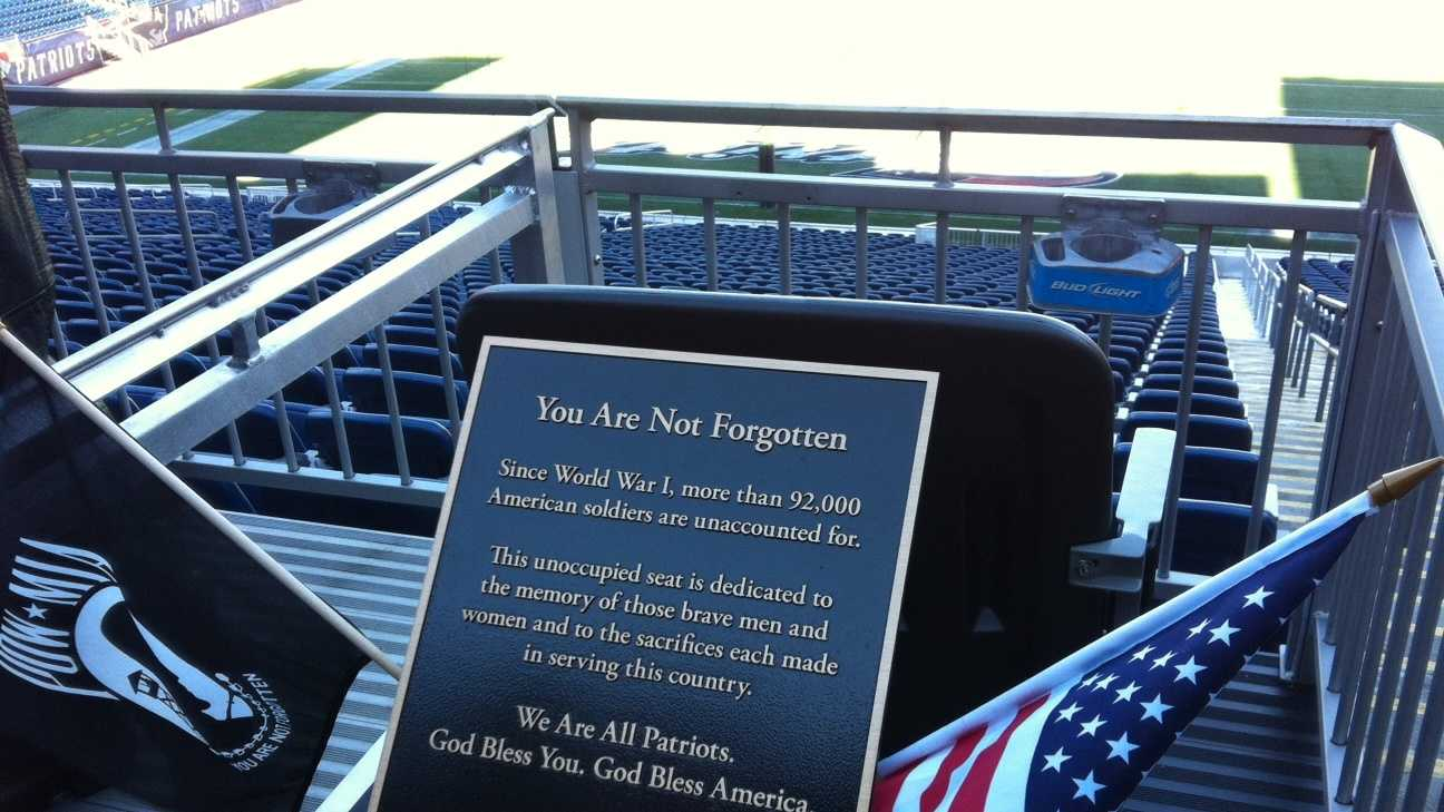 Seat at Gillette