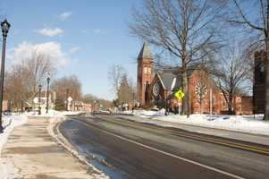 #52. - South Hadley had an SIR of 129.1 in 2004-2008 according to data from the Massachusetts Department of Public Health.