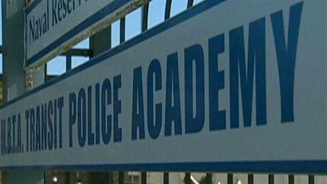MBTA Police Academy Sign