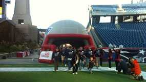 Veterans at Gillette Stadium