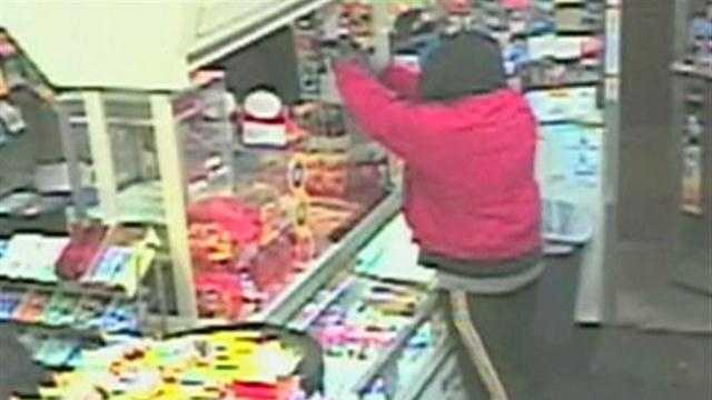 Store clerk attacked, pistol-whipped by team of robbers