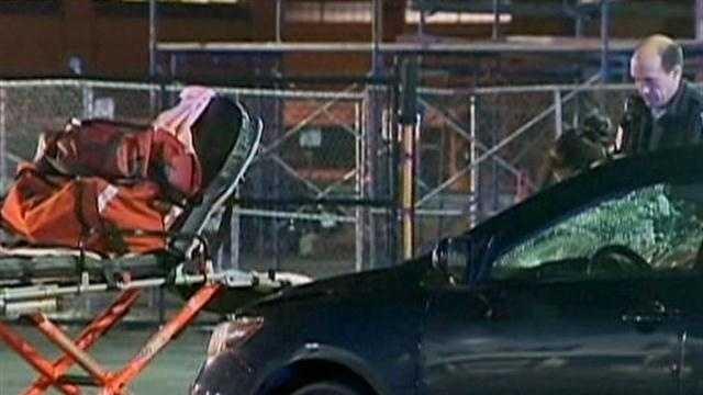 Man struck, killed by car overnight