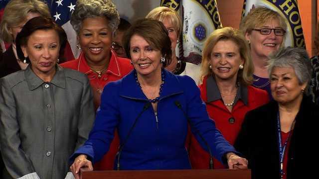 Nancy Pelosi, House Democratic women