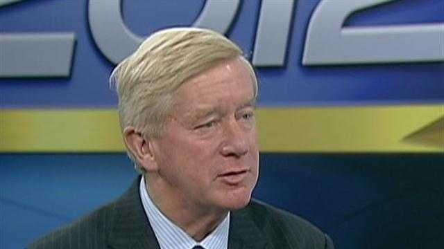 Former Governor William Weld discusses political future
