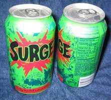 The Coca-Cola Company discontinued Surge in 2003.