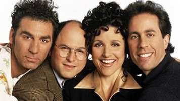 """Seinfeld"" is JC's favorite TV show of all time."