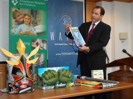 The W.A.T.C.H. group(World Against Toys Causing Harm, Inc.)revealed its nominees for the 10 worst toys of 2012 Tuesday.