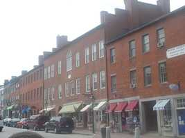 #48. (tie) - Newburyport showed a year-to-year increase of 20% according to data provided by the Massachusetts Association of REALTORS® and MLS Property Information Network, Inc.