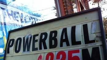 Powerball sign