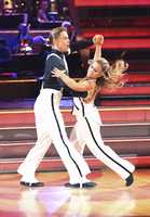The judges blasted Johnson and Hough for breaking the rules of the quickstep.