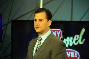Kimmel's show first started on ABC-TV in 2003.