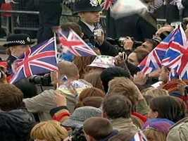 Britons were enthralled by the ceremony.