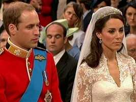By some standards, Catherine's wedding tiara was modest.