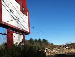 A fire on Nov. 13 destroyed the vacant Carriage House restaurant on Nov. 13.