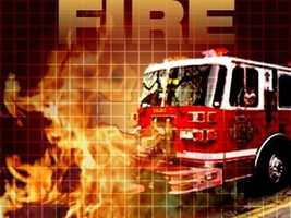An empty house under construction went up in flames on Nov. 24 in Kingston.