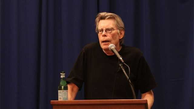 Stephen King at UMass Lowell