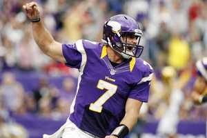 31) Minnesota Vikings - The purple jerseys certainly 'pop' - but Uni Watch says the new two-tone collar that was just introduced this season - look terrible.