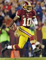 17) Washington Redskins - One of the most historic franchises in the NFL - with a name and logo that has been the source of controversy over time. Uni Watch says this is best combination of colors for the Redskins. They have other color combinations - which just don't 'pop' as well on TV and in photos.  Is the look starting to feel dated to you?