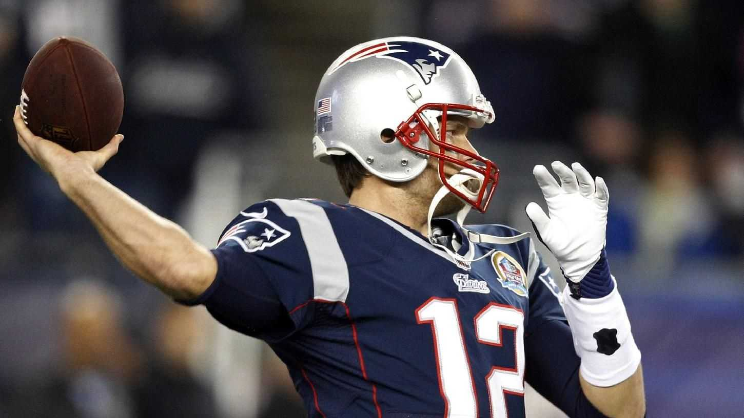 Tom Brady Passing AP