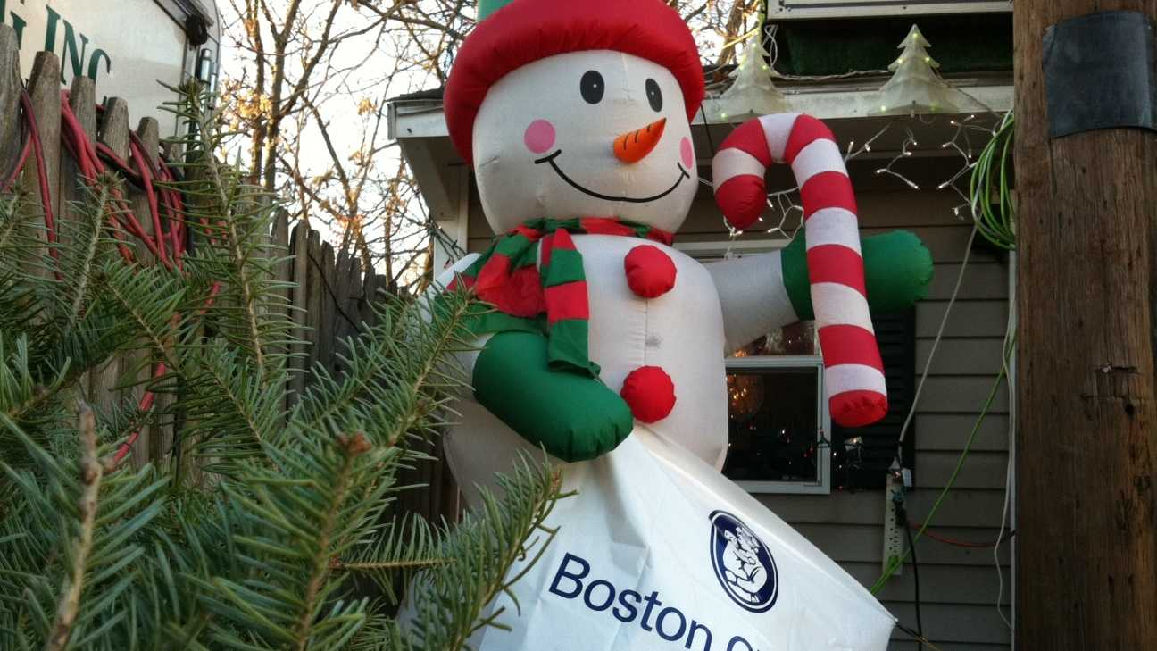 West Roxbury Stolen Christmas Tree