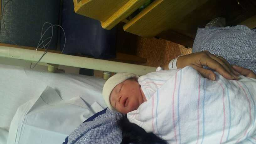Abigail Clinton 12-12 baby