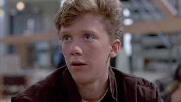 08) Anthony - 351  (Michael Anthony Hall, known professionally as Anthony Michael Hall, is an American actor, film producer and director who starred in several teen-oriented films of the 1980s. He was born in West Roxbury.)