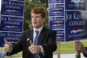 11) Joseph - 1,456  (Pictured here is Mass. Congressman Joseph Kennedy III)