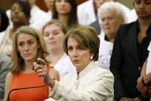 09) Nancy - 1,058  (Pictured here is U.S. House Minority Speaker Nancy Pelosi)